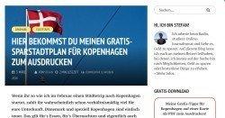 Gratis Spar-Stadtplan von Kopenhagen als Download erhältlich