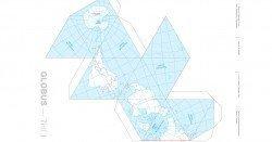 Die Erde als kostenloser Bastelglobus nach Buckminster Fuller