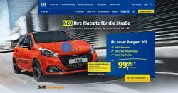 1&1 All-Net-Flat + Peugeot 208 für 99,99€ inkl. Steuer+Versicherung