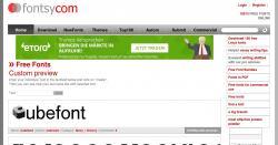 Fontsy.com - Über 3000 kostenlose Fonts bzw. Schriftarten