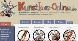 Gratis Malen und Zeichnen lernen auf Kunstkurs-Online.de