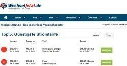 Wechseljetzt.de - Das gratis Vergleichsportal für Strom/Energie
