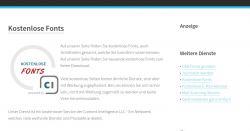 Download: Kostenlose & lizenfreie Fonts/Schriftarten im TTF-Format