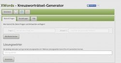 Kreuzworträtsel-Generator: Erstelle gratis eigene Kreuzworträtsel