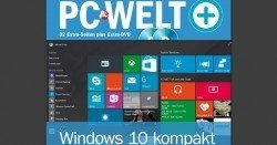 PC-Welt verschenkt gratis ein Sonderheft zu Microsoft Windows 10 als PDF