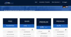 5 GB kostenloser Cloud-Speicher ohne Traffic-Limit bei BlauCloud