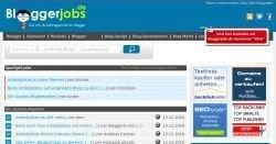 Gratis Blogger-Jobs suchen und finden auf bloggerjobs.de