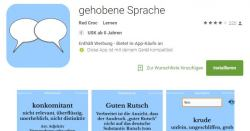 Gebildet sprechen mit der Gratis App: Gehobene Sprache