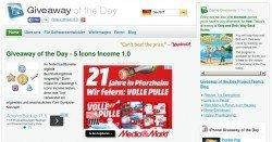 Giveaway of the Day: Jeden Tag eine kostenpflichtige Software kostenlos downloaden!