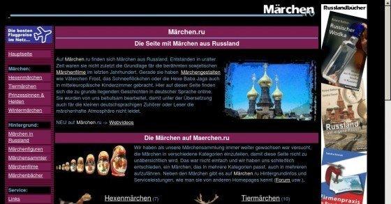 Alte Märchen aus Russland gratis online lesen