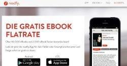 Kostenloses Lesevergnügen mit der Gratis App readfy