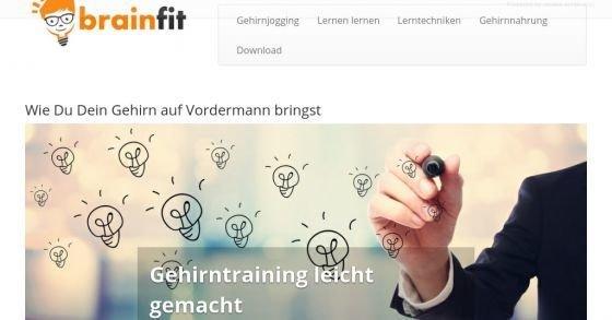 Gehirnjogging: Trainiere gratis dein Gehirn und Gedächtnis mit Brain-Fit!