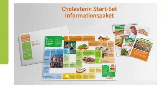 Gratis Cholesterin Starter-Set von Becel pro.activ