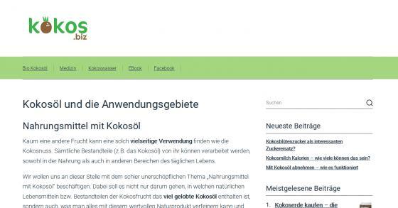 Gratis E-Book zum Thema Kokosöl und Kokosmlich