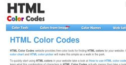 Gratis HTML und RGB Farben bestimmen mit den HTML Farbencodes