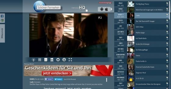 Gratis & live TV online schauen! z.B. Pro7, RTL, Sat1, Kabel1 usw.