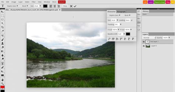 Gratis Photoshop- & Gimp-Grafiken online erstellen & bearbeiten