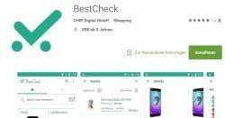 Gratis Preisvergleich mit der BestCheck-App