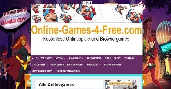 Große Sammlung von kostenlosen Online-Games