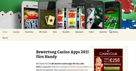 Handycasinospiele.de - Überblick & Tests aller aktuell verfügbaren Casino-Apps