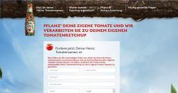 Heinz Ketchup verschenkt gratis seine eigenen Tomatensamen!