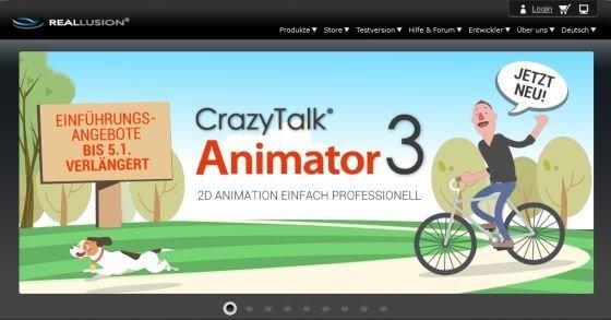 Kostenlose Trickfilme kreieren mit GrazyTalk