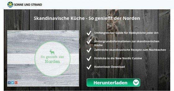 Kostenloses PDF-Kochbuch für die skandinavische Küche downloaden