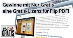 Nur.Gratis verlost 30 Lizenzen für die Software Flip PDF!