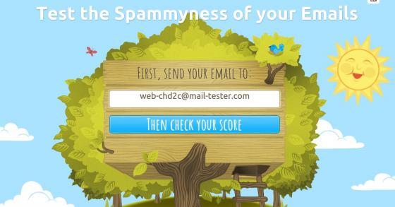 Prüfe deinen Mail-Server & dessen E-Mails auf Spam-Verdacht!