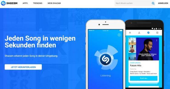 Shazam: Wie heißt der Song? Musik finden mit der Gratis-App