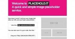 Tool für Webmaster: Bild-Platzhalter, schnell und kostenlos, erstellen