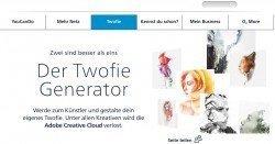 Twofie statt Selfie - Generator erstellt aus einem Selfie einen kreativen Twofie