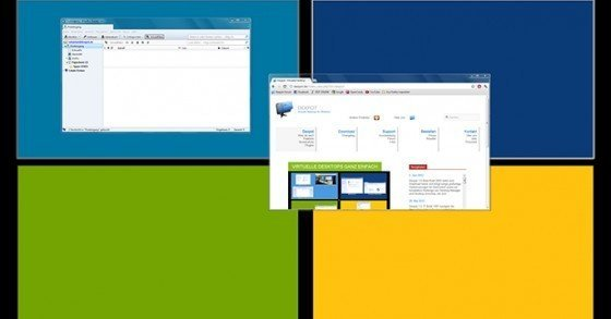 Virtuelle Desktops für Windows mit Dexpot