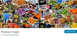 Wordpress-Plugin: Kostenlose Bilder von Pixabay in Blog einbinden