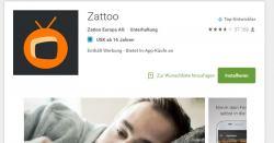 Zattoo bietet Dir gratis TV Vergnügen für viele Sender